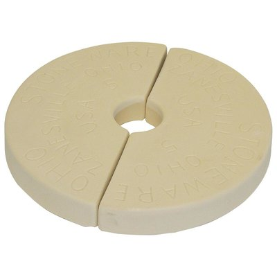 Down to Earth Ohio Stoneware Fermentation Weight for 2 gallon Crock