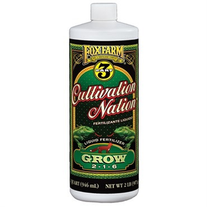 Indoor Gardening FoxFarm Gringo Rasta Lickety Split - Quart