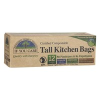 If You Care If You Care Compostable Tall Kitchen Bags - 13 Gallon