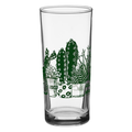 Down to Earth Succulents and Cacti Drinking Glass