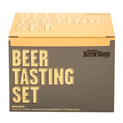 Beer and Wine Brooklyn Brew Beer Tasting Glass Set