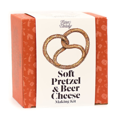 Urban DIY Farmsteady Soft Pretzel and Beer Cheese Making Kit