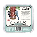 Home and Garden Coles Natural Peanut Suet Cake - 11.75