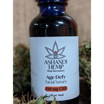Home and Garden Ashandi CBD Hemp Age Defy Facial Serum - 1 oz