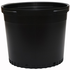 Nursery Supplies Round Black Nursery Pot - 15 gallon