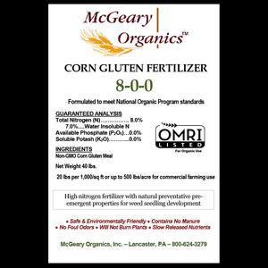 Outdoor Gardening McGeary Organic Corn Gluten - 40 lb