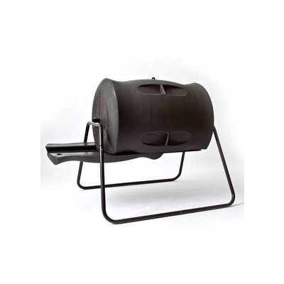 Home and Garden Algreen Tumbling Compost Bin - Black