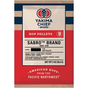 Beer and Wine Sabro (HBC 438) Hop Pellets - 2 oz