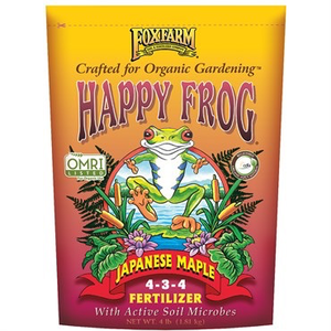 Outdoor Gardening FoxFarm Happy Frog Organic Japanese Maple Fertilizer - 4 lb