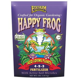 Outdoor Gardening FoxFarm Happy Frog Organic Acid Loving Fertilizer - 4 lb