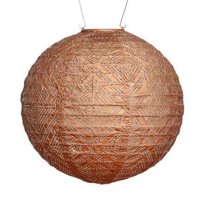 Soji Soji Solar Market Lantern - Copper
