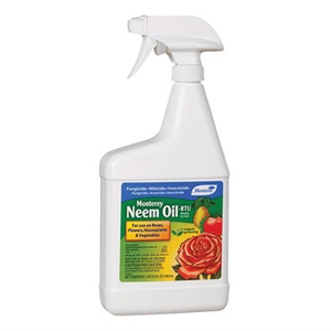 Pest and Disease Monterey Organic Neem Oil - RTU - 32 oz