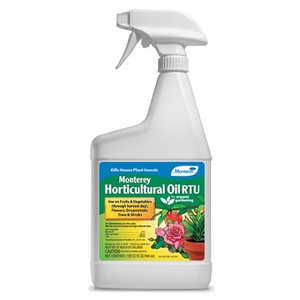 Pest and Disease Monterey Organic Horticultural Oil - RTU - 32 oz