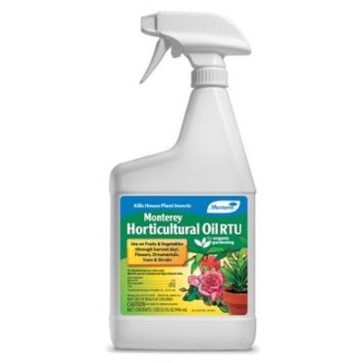 Pest and Disease Monterey Organic Horticultural Oil - RTU - 32 oz