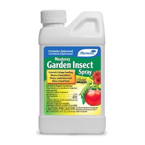 Pest and Disease Monterey Organic Garden Insect Spray - Concentrate - 8 oz