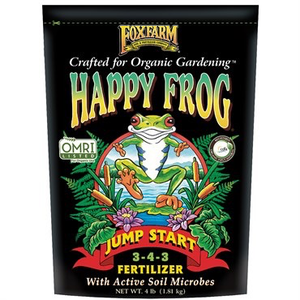 Outdoor Gardening FoxFarm Happy Frog Jump Start Fertilizer - 4 lb