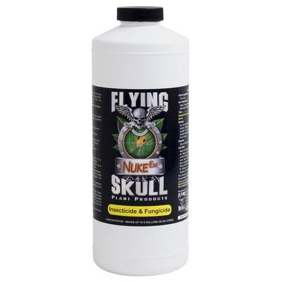 Pest and Disease Flying Skull Nuke Em Organic Pesticide - 32 oz