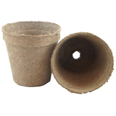 Jiffy Jiffy Round Peat Pot - 2.25 inch - Single