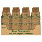 Propagation Plant Best Biodegradable Coco Coir Pot - 3 inch - 8 pk