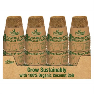 Propagation Plant Best Biodegradable Coco Coir Pot - 3 inch - 8 pk
