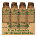 Plant Best Plant Best Biodegradable Coco Coir Pot - 2.5 inch - 12pk