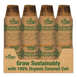 Propagation Plant Best Biodegradable Coco Coir Pot - 2.5 inch - 12pk