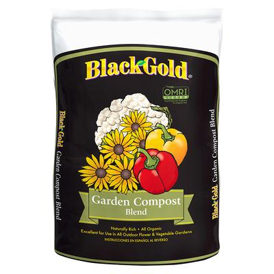 Outdoor Gardening Black Gold Organic Garden Compost - 1 cu ft