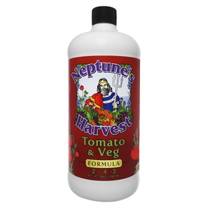 Outdoor Gardening Neptune's Harvest Tomato & Veggie Fertilizer - 32 oz