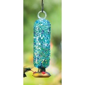 Home and Garden Parasol Filigree Hummingbird Feeder - Ocean