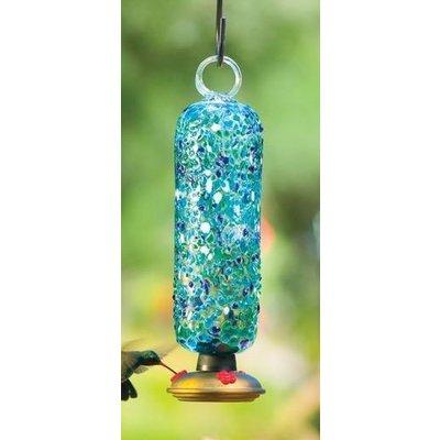 Parasol Parasol Filigree Hummingbird Feeder - Ocean
