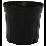 Nursery Supplies Round Black Nursery Pot - 5 gallon