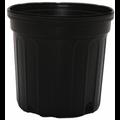 Outdoor Gardening Round Black Nursery Pot - 3 gallon