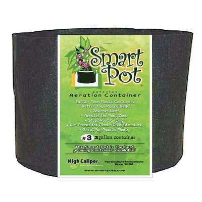 Containers Smart Pot Fabric Container - 3 gallon