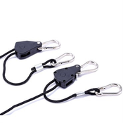 Lighting Heavy Duty Adjustable Light Hanger - 2 pk