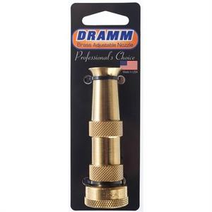 Outdoor Gardening Dramm Adjustable Brass Hose Nozzle