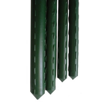 Gardener Select Green VInyl Steel Stake - 8 ft