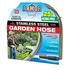 Outdoor Gardening Armor Stainless Steel Metal Hose - 25 ft