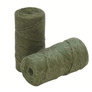 Outdoor Gardening Bond Green Jute Twine - 200 ft