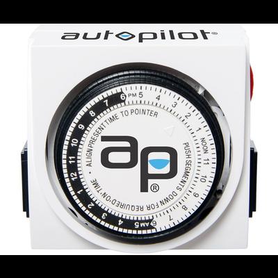 Autopilot Autopilot Dual-Outlet Analog Timer - 120 volt