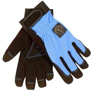 Outdoor Gardening Womanswork Periwinkle Digger Gardening Gloves - Large