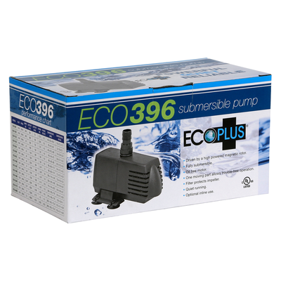 EcoPlus EcoPlus Eco 396 Submersible/Inline Pump - 396 GPH