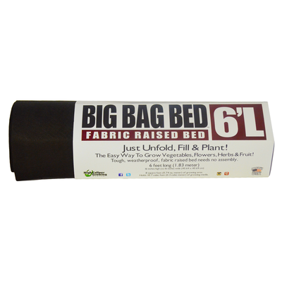 High Caliper Smart Pot - Big Bag Long Raised Bed - 6ft