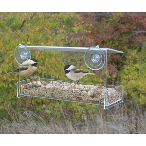 Heath Clear View Window Bird Feeder