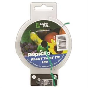 Outdoor Gardening Plant Twist Tie Dispenser w/cutter - 100 feet