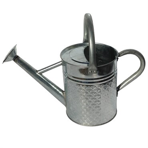 Outdoor Gardening Gardener Select 7 Liter Watering Can - Galvanized