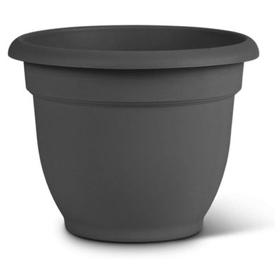 Pottery Bloem Charcoal Ariana Planter - 10 in