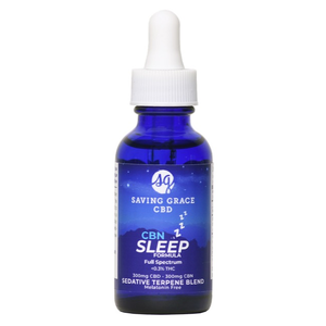 Home and Garden Saving Grace CBD/CBN Sleep Formula - 30 ml