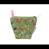 Home and Garden EcoBagIt! Zip Reusable Snack Bag - Meadow