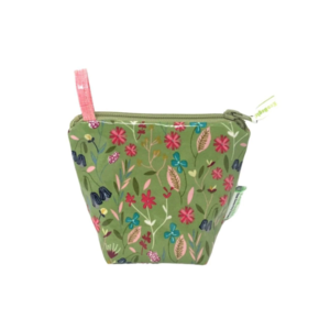Home and Garden EcoBagIt! Zip Reusable Snack Bag - Meadow