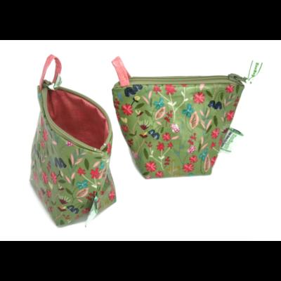 Green City Living EcoBagIt! Zip Reusable Snack Bag - Meadow